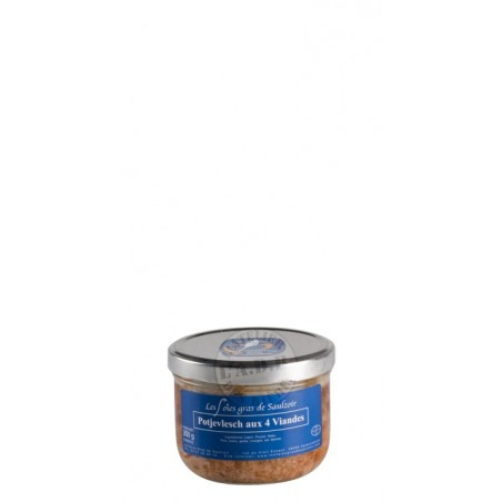 Potjevlesch au 4 viandes 250 gr