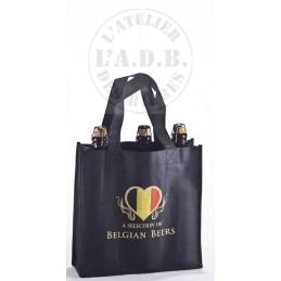 Sac Belgian Beer 3 bts (le lot de 10 sacs vides)