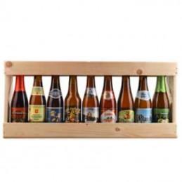 1/2 Metre de bière bois 9 x 25 cl - Vide