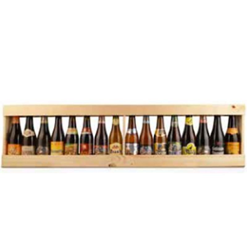Metre de bière bois 16 x 33 cl