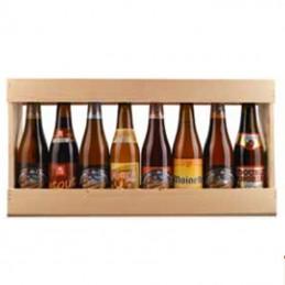 1/2 Metre de bière bois 8 x 33 cl - Vide