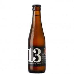 Bière Belge Pils 13 Craft Pilsner 25 cl