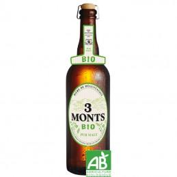 Bière Française 3 Monts Bio 75 cl