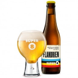 Bière Super 8 Flandrien 33 cl