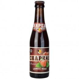 Chapeau Fraise 25 cl - Bière Belge - Brasserie De TRoch