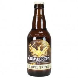 Grimbergen Triple 33 cl - Bière d'Abbaye au tarif grossiste