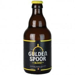 Gulden Spoor blonde 33 cl - Bière Belge - Brasserie Het Gulden Spoor