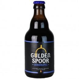 Gulden Spoor Quadruple 33 cl - Bière Belge - Brasserie Het Gulden Spoor