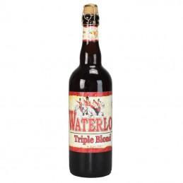 Waterloo Triple 7.5° 75 cl - Bière Belge de la Brasserie Du Bocq