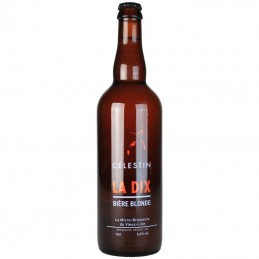 La Dix Blonde 75 cl - Bière du Nord