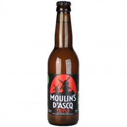 Moulins d'Ascq Triple 33 cl - Bière du Nord