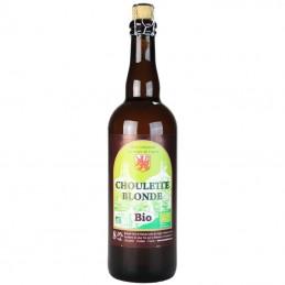 Choulette Blonde Bio 75 cl - Bière du Nord